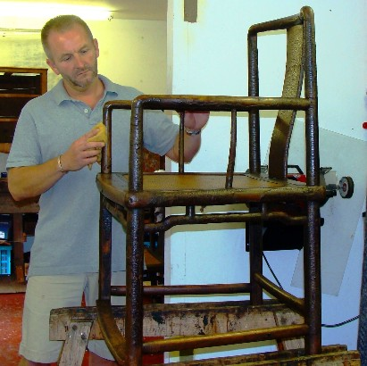 Skills restoration conservation of oriental furniture for Oriental furniture nj